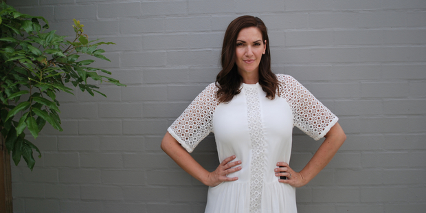 It was after some prompting by her now-husband that Caitlin Taylor decided to combine her two loves - writing and fashion - and start a blog. Photo / Supplied