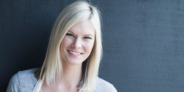THINK PINK: Celebrity cook Chelsea Winter is fronting the Pink Ribbon Breakfast Campaign.