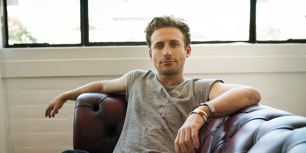 Dean O'Gorman who stars with James Rolleston and Ashleigh Cummings in the remake of Goodbye Pork Pie.