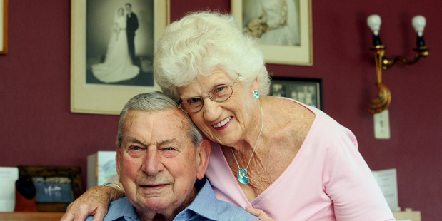 LONG-LASTING LOVE: Ross and Barbara Strachan celebrate 60 years of marriage today. PHOTO/PAUL TAYLOR