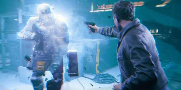 Screenshot from Quantum Break.
