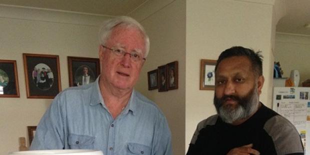 Reynold Macpherson (left) and Raj Kumar. PHOTO/SUPPLIED