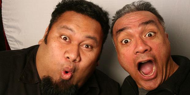 Eteuati Ete and Tofiga Fepuleai from The Laughing Samoans.