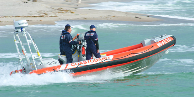 Maketu Coastguard's jet boat on its way to help out with another incident this summer. Photo/Maketu Coastguard
