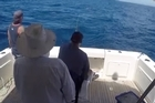 All four men aboard the fishing boat are adamant they caught the fish and should be handed the $48,000 prize, but the event promoter is so far standing firm.