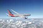 American Airlines Dreamliner 787.