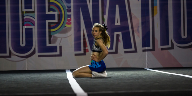 Anna Grigson, 13, will compete in the Perth based Toxic Cheer Weapons Team. Photo/Supplied