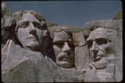 Visitors to Mt Rushmore in South Dakota get sidetracked by a GPS fault that leads them to a retreat centre centre nearby.
