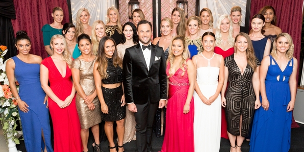 ADVENTURE: The cast from TV series The Bachelor NZ, which includes Kerikeri woman Gabrielle (Gab) Davenport, centre back.