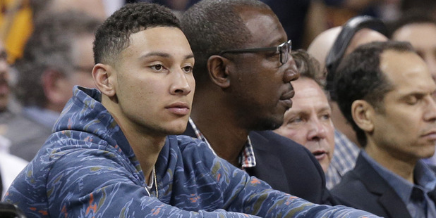 Australian Ben Simmons is heading to the NBA but maybe not as the number one pick. Photo / AP