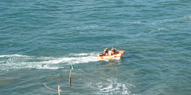 A happy ending as the fishermen are rescued.