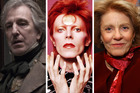 Alan Rickman, David Bowie, and Patty Duke all passed away this year.