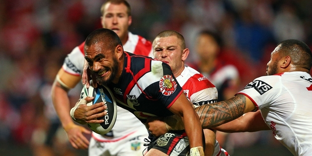The Warriors have a poor record across the Tasman, particularly against the Dragons. Photo / Getty Images