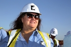 Iron ore billionaire Gina Rinehart's Hancock Prospecting, paid A$466 million in company tax on A$2.85 billion in revenue.
