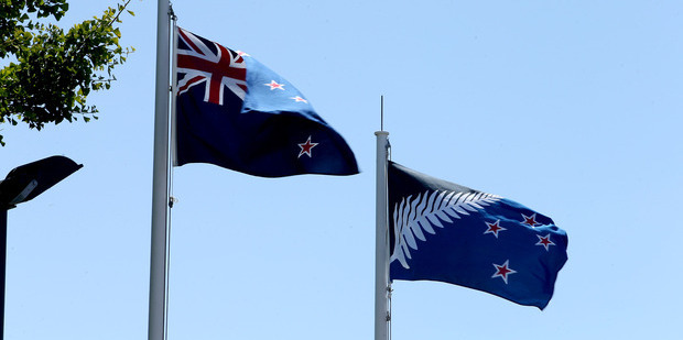 Loading Barry Soper: The flag debate is now well and truly over and most of us are over it as well.