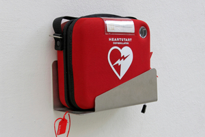 "The Bunnings management ""put their foot down'' and forced staff to remove the defibrillator from the store and give it to a community group. Photo / iStock"