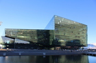 Reykjavik's famous Harpa concert hall features in the promotional video for Rhode Island. Photo / iStock