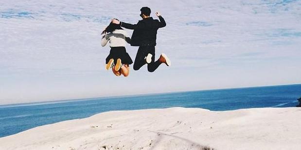 Instagram image taken at Wedding Cake Rock in the Royal National Park south of Sydney. Photo: Instagram