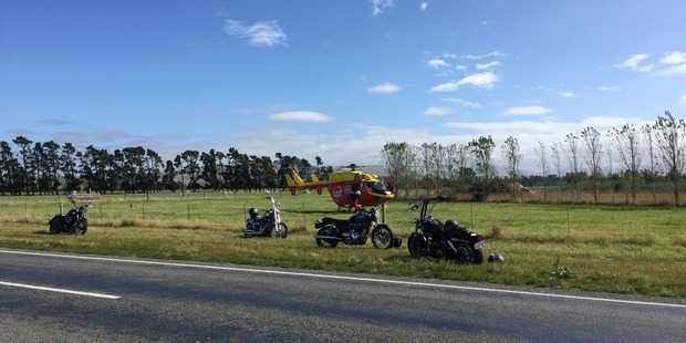 Dr Jarrod Gilbert was flown to Christchurch hospital. Photo / Supplied