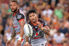 Issac Luke and Manu Vatuvei are back for the Warriors. Photo / Getty