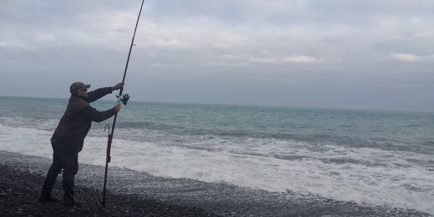 The 51-year-old Kaikoura local had been fishing at the river mouth when he was swept out shortly before 10am. Photo / Supplied