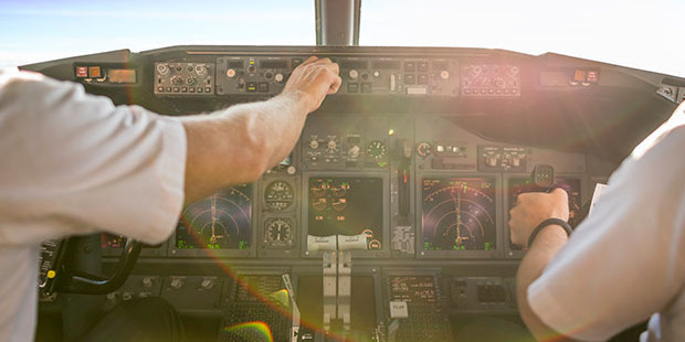 Large variations on a route are normally a planned event and happen before the flight - this is often in conjunction with the airline operations team. Photo / iStock