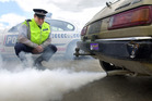 It is an offence for a vehicle to omit a stream of smoke or vapour for more than 10 seconds. Photo / John Borren