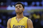 Los Angeles Lakers' D'Angelo Russell. photo / AP