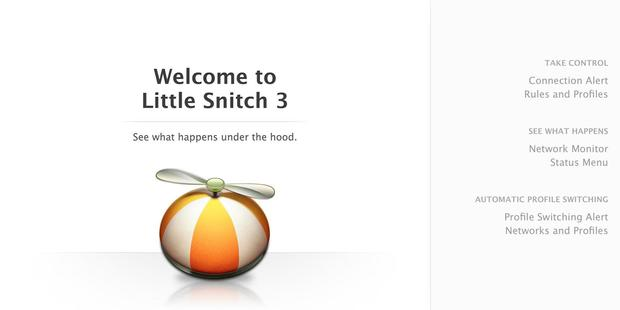 Little Snitch was developed by Australian coders Objective Development.