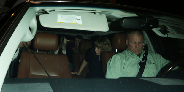 Nick Jonas, Taylor Swift and Lorde were seen leaving the party together in the same car. Photo / Splash