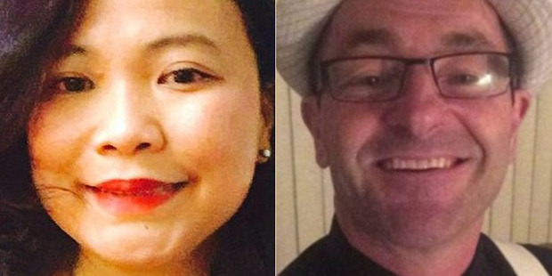 Jovi Pilapil and Keith Collins were attacked at Westfield Hornsby in Sydney. Photo / Facebook