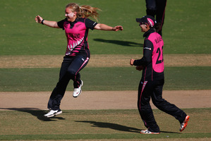 The White Ferns play West Indies tonight.