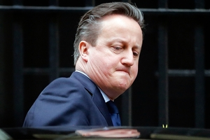 The week just kept getting worse for David Cameron. Photo / AP