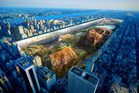 Yitan Sun and Jianshi Wu's award-winning New York Horizon project. Photo / Evolo.com