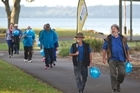 Diabetes New Zealand Rotorua is doing a march from QE Health to the museum today in recognition of World Health Day: Beat diabetes. 07 April 2016 Daily Post photograph by Stephen Parker