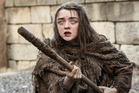 Actress Maisie Williams stars as Arya Stark in the hit TV show Game of Thrones.