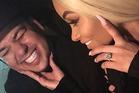 Rob Kardashian and Blac Chyna are expecting. Photo / Instagram