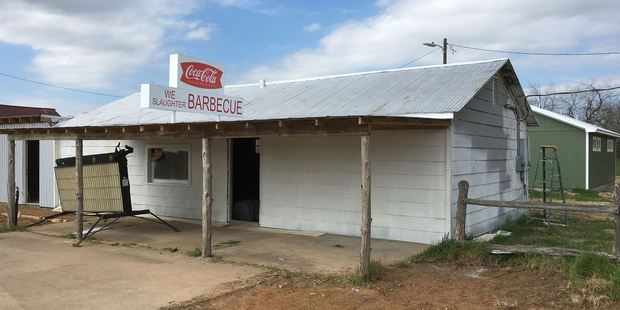 We don't want to know what goes on the grill at the We Slaughter Barbeque. Photo / Facebook, Texas Chainsaw Massacre Gas Station