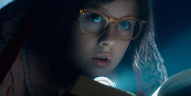 Ruby Barnhill stars as Sophie in Disney's The BFG.