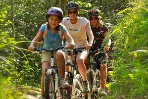 Don't miss out on fun in the forest and be part of Sport BOP's April Adventure. Photo / Multi Day Adventures