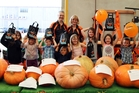 They weren't the biggest pumpkins in the country, but the Whangarei entries in the Mitre 10 Easy As Kids Big Pumpkin Contest, above, still making an impressive sight, with overall local winner Jeremy Mortimore, on the left, with his 59kg whopper.