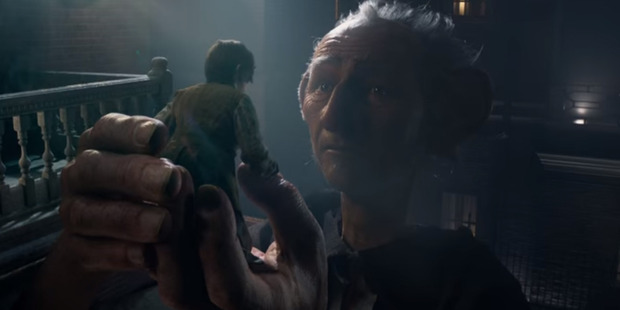 Oscar winner Mark Rylance takes on the giant role as The BFG.