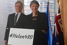 Helen Clark doesn't just break through gender barriers, she shatters them, leaving shards of sexism and prejudice in her wake.