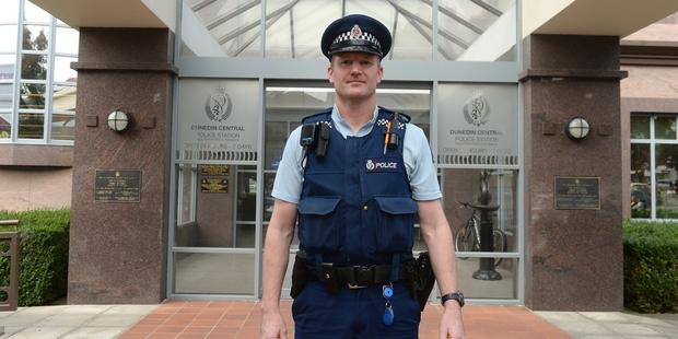 Constable Rhys Davidson. Photo / Stephen Jaquery
