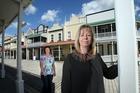 Tauranga Historic Village tenants Lynn Sinclair and Simone Anderson are looking forward to a busier village.Photo / John Borren