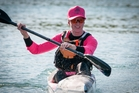 Auckland chiropractor Dr Ainslee Roughan is a relative newcomer to surf ski where New Zealand women shine on the world stage. Photo / LiveSailDie