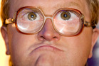 Actor Michael Smith as Bubbles in Trailer Park Boys. Photo / AP