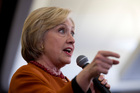 Democratic presidential candidate Hillary Clinton speaks at a campaign event. AP photo / Mary Altaffer