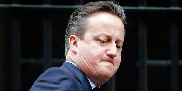 Loading Britain's Prime Minister David Cameron. His late father has been mentioned in the Panama Papers. Photo / AP