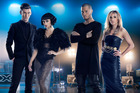 Willy Moon and Natalia Kills joined Stan Walker and Melanie Blatt on the judging panel for the second season of The X Factor NZ.